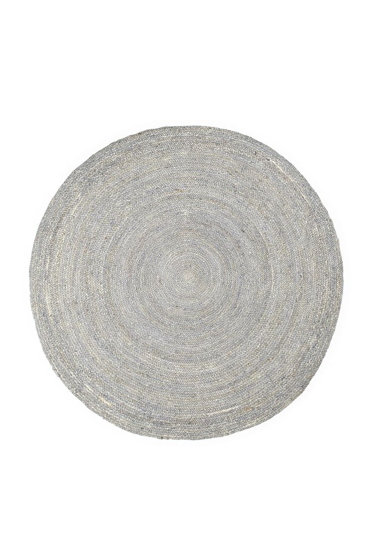 Grey Jute Round Rug   New Arrivals   French Connection