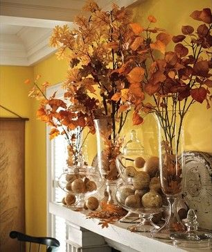 thanksgiving decorating ideas | ... Beautiful Fall and Thanksgiving Ideas, Tablescapes, Decorating Ideas