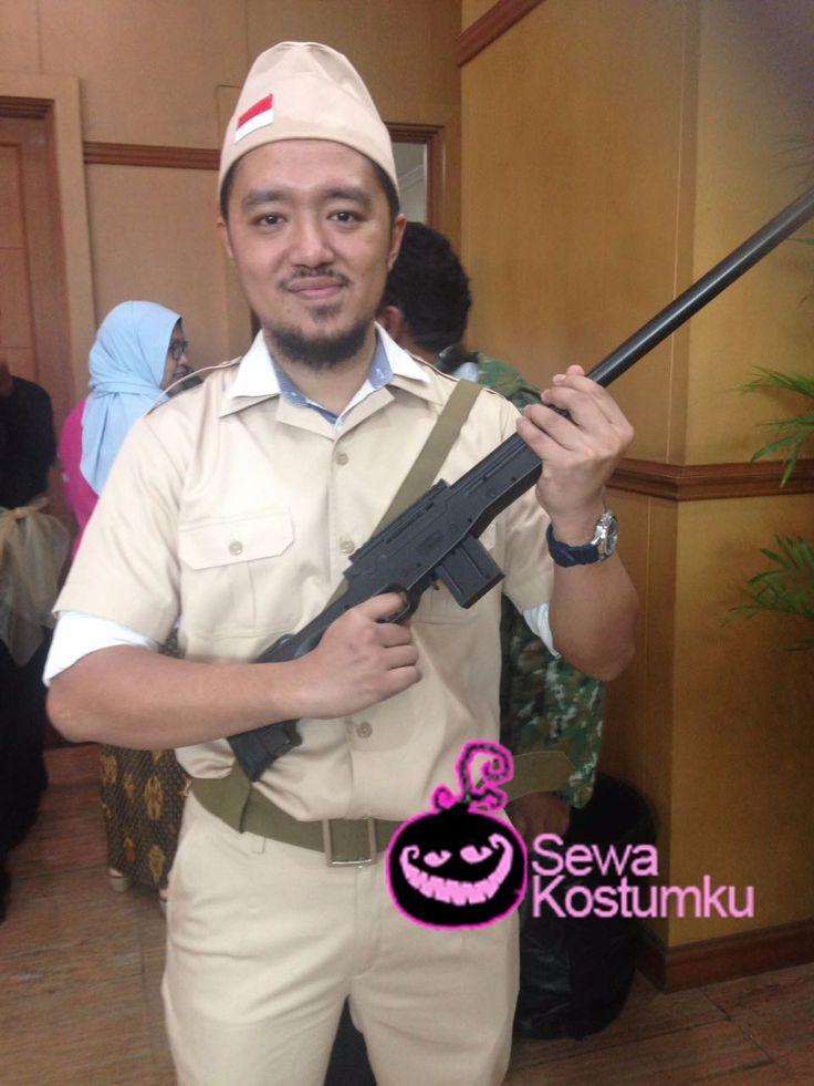 Sewa Kostum Pejuang Kemerdekaan di Jakarta hub 0817 661 6654