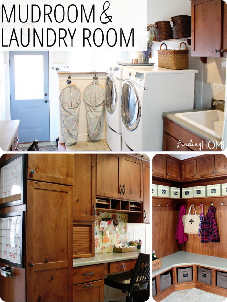 Mudroom and Laundry Room... making a usable and beautiful space!  Great organization ideas and decorating inspiration!  www.findinghomeonline.com