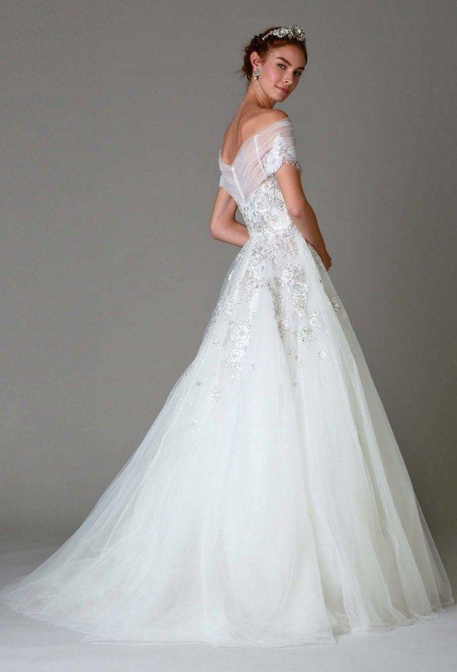 Gorgeous Ballgown Marchesa Wedding Dress