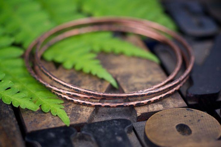 Cool copper bangles