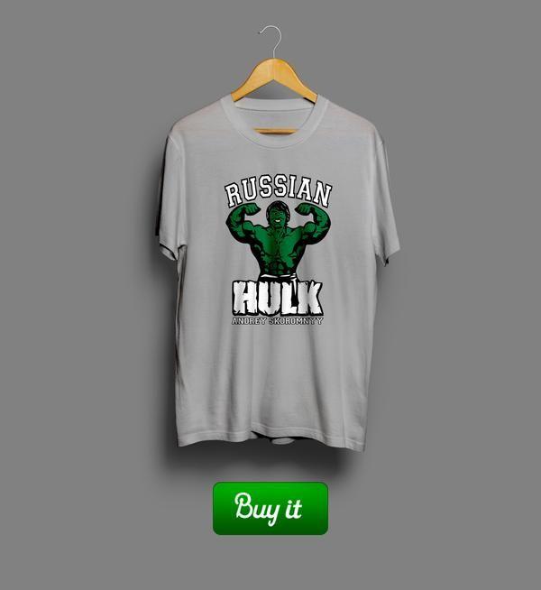 Russian Hulk | Russian Hulk Gifted Nutrition training bodybuilding бодибилдинг футболка tshirt