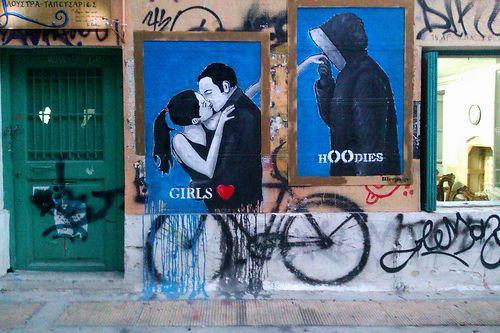 Street Art #Athens (by Panos Mitsikas)