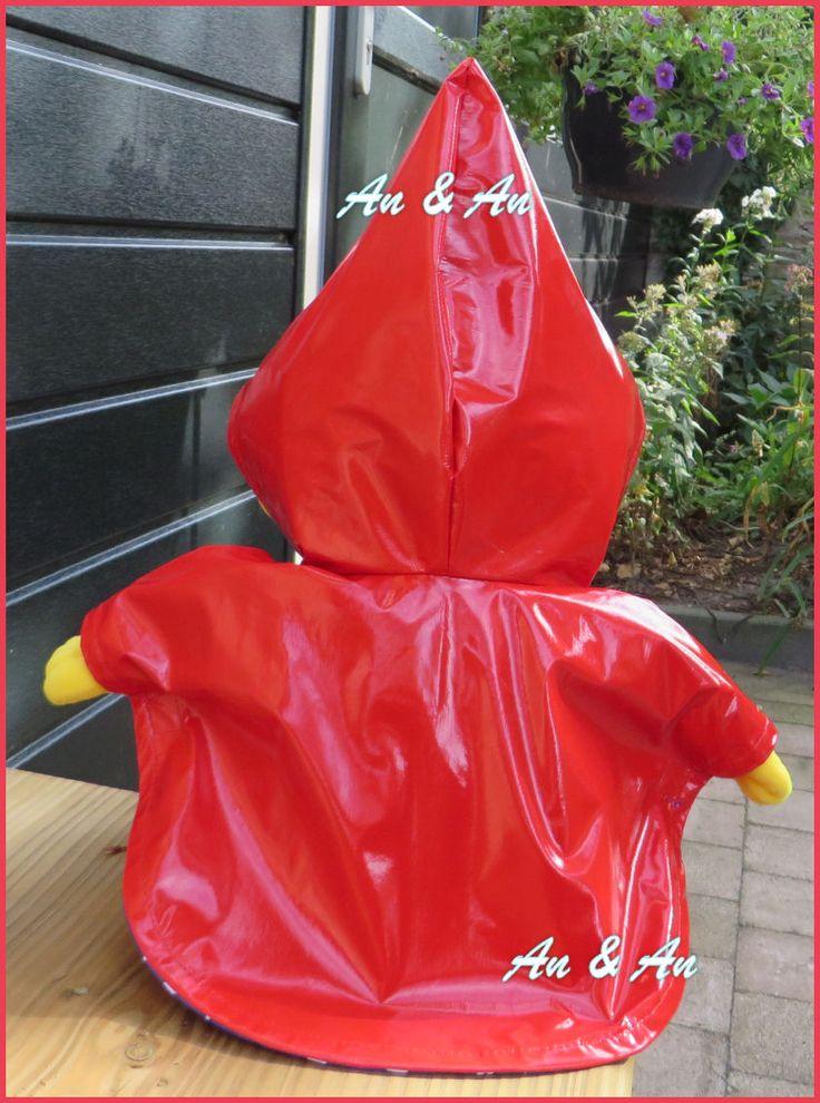 Regenponcho voor Puk