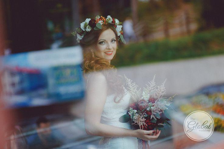 Berry wedding Flower crown Ягодная свадьба Лесные ягоды Венок