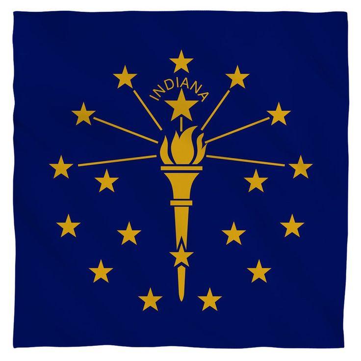 Indiana Flag Bandana