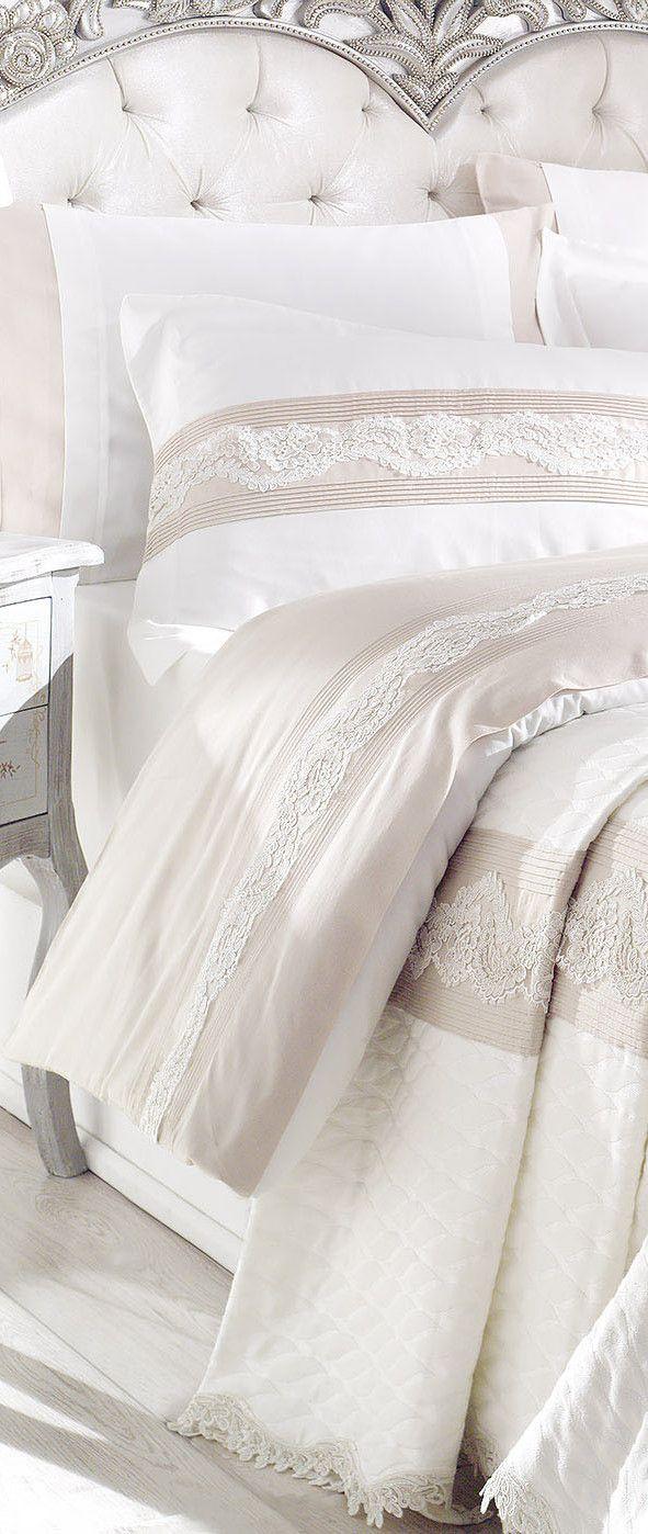 Bedroom ideas #beddingsets #bedlinen #luxurybedding modern bedroom, bedroom decoration, duvet cover | More at www.plumesilk.com