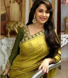 Buy Madhuri dixit bollywood replica saree madhuri-dixit-saree online
