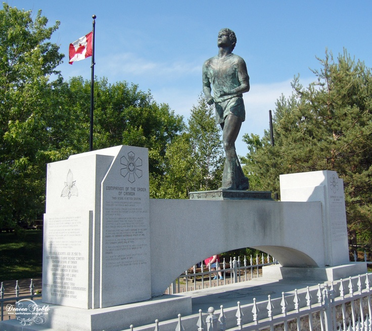 Terry Fox Monument, Thunder Bay, Ontario Canada