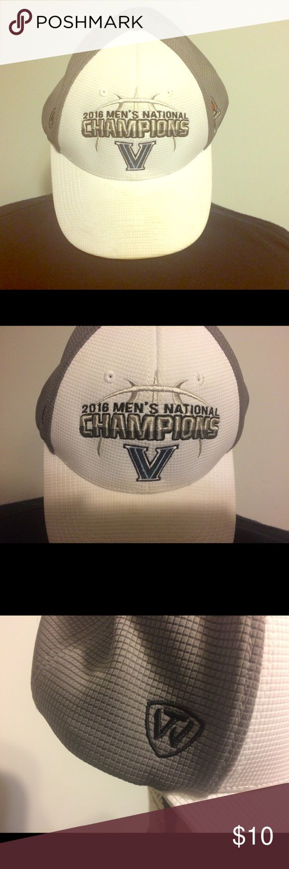 Villanova 2016 men's national champions hat 2016 men's national champions Villanova hat 100% polyester one size fits all Top of the World Accessories Hats