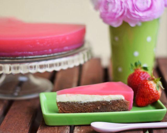 REB´S KITCHEN: (nielen) veľkonočná kakaová torta s tvarohom a ovocným želé