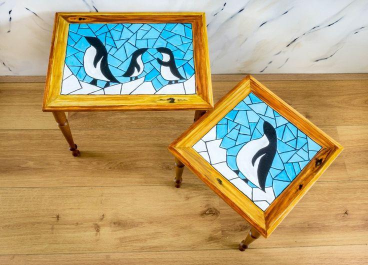 Pinguin bijzettafel