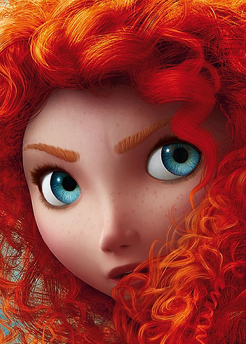 Pixar invented two new programs over three years to create Merida's hair ^_^