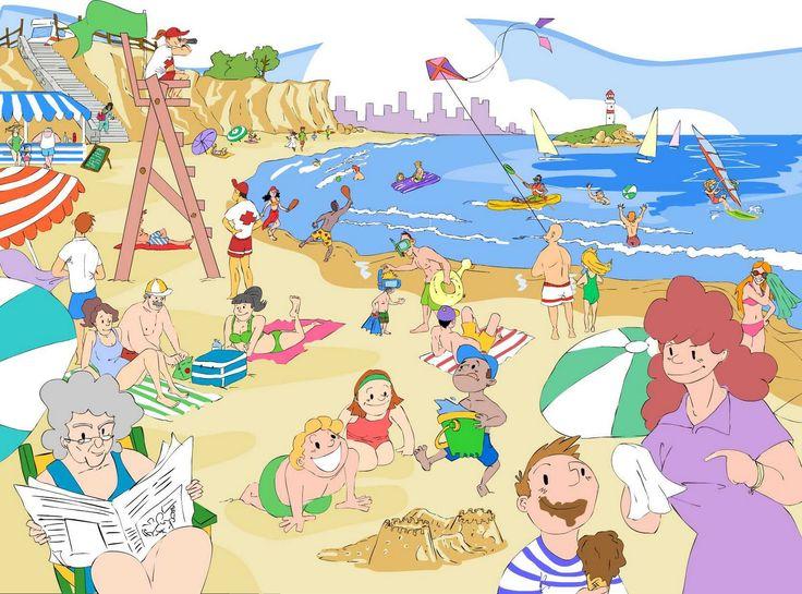 Praatplaat strand