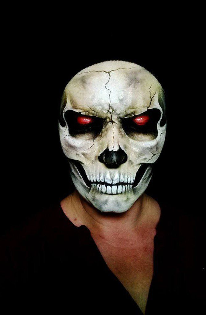 Demonic Ghoul Makeup by Nikki Shelley