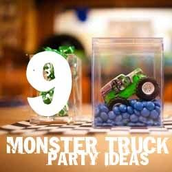 9 Monster Truck Party Ideas - Spaceships and Laser Beams