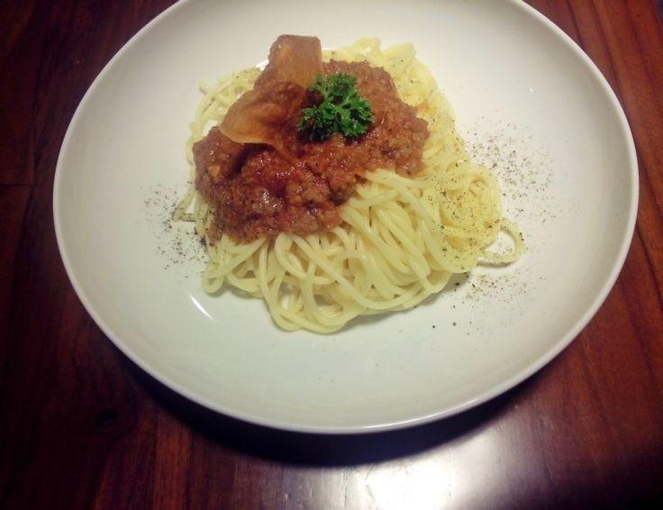 Spaghetti mandailing cafe..