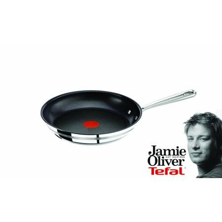 Tefal . Jamie Oliver pan, 28 cm  Check it out on: https://tjengo.com/ovn-komfur/331-tefel-stegepande-28cm.html?search_query=jamie+oliver&results=14
