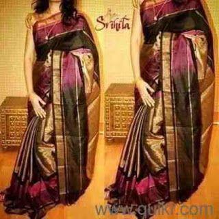 Sri Lakshmi Manikanta Handlooms :  Uppada pattu middle tissue sareePrice: 3400+ shi...