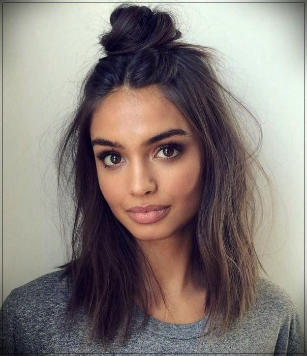 20 Pretty And Simple Hairstyles For Girls With Shoulder Length Hair Medium Hair Styles Hair Lengths Medium Length Hair Styles