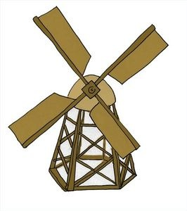 How do you build a windmill?