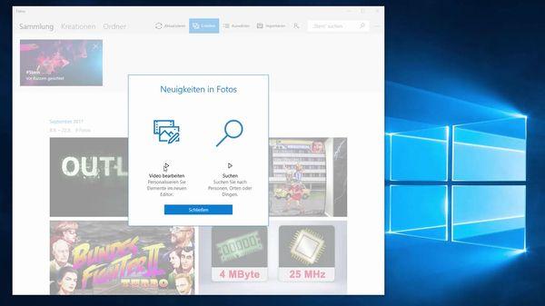 Mit Der Fotos App Die Unter Windows 10 Vorinstalliert Ist Konnen Neuerdings Auch Videos Bearbeitet Werden So Lassen Sich Die Dateien Etwa Kurzen In Eine Zei In 2020