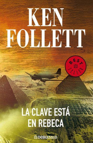 """EL LIBRO DEL DÍA:  """"La clave está en Rebeca"""", de Ken Follett.  ¿Has leído este libro? ¿Nos ayudas con tu voto y comentario a que más personas se hagan una idea del mismo en nuestra web? Éste es el enlace al libro: http://www.quelibroleo.com/la-clave-esta-en-rebeca ¡Muchas gracias! 4-4-2013"""