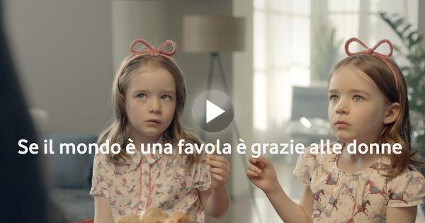 Come sarebbero le favole senza le donne? Vodafone le ha immaginate così! #donnedafavola #ad