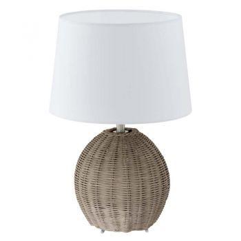 Veioză rustică Roia vintage - o veioza de acest gen va oferi un aer modern oricarei incaperi. #DecoStores #iluminat #corpiluminat #amenajariinterioare #veioza #bedside lamps #homedecor #lamps
