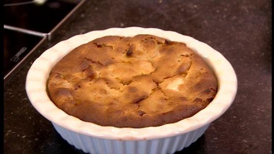 Appelcake zonder ei - met Jonagold OER-fruit