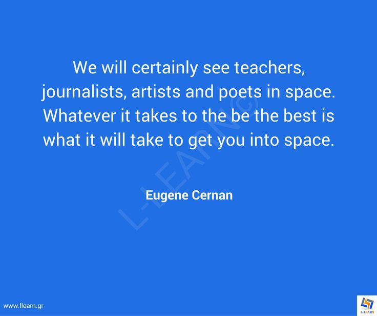 Γνωμικό για την εκπαίδευση 83. #LLEARN #εκπαίδευση #εκπαιδευτικός #μάθηση #απόφθεγμα #γνωμικό #Eugene #Cerman #LLEARN  www.llearn.gr
