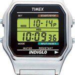 Timex – Homme – Timex Original – Quartz Digitale: Montre pour Homme à mouvement Quartz - Bracelet en Acier inoxydable Argent Type…
