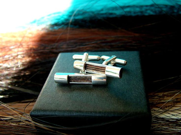 Cufflnks Polo, 3mm ribbon style 'hair stripe' For Kees, The Netherlands http://nannasalmi.com/collections/cufflinks/