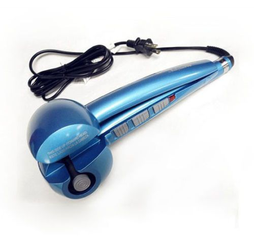 New Blue BaByliss Pro Nano MiraCurl Titanium Perfect Hair Curling Machine