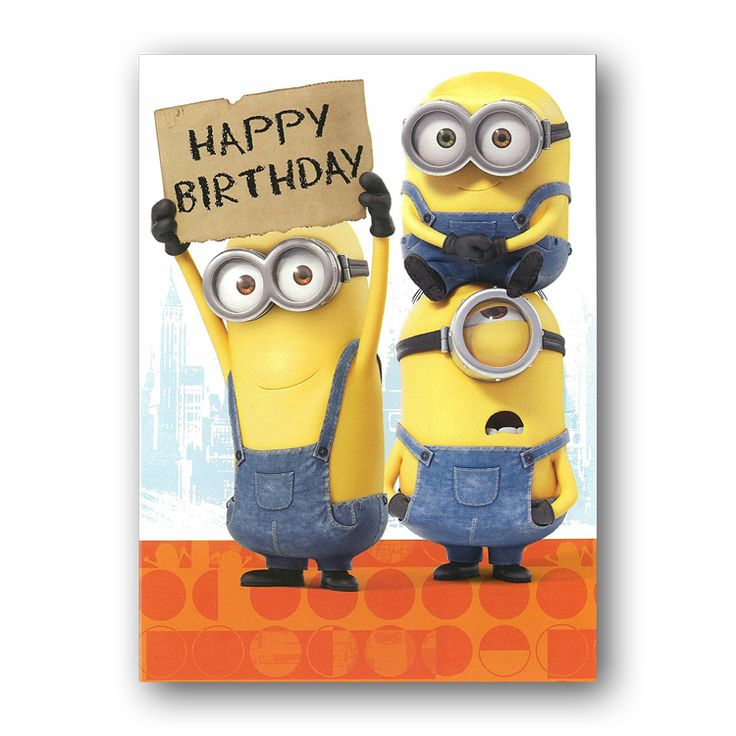 Minions Birthday Cards In 2019