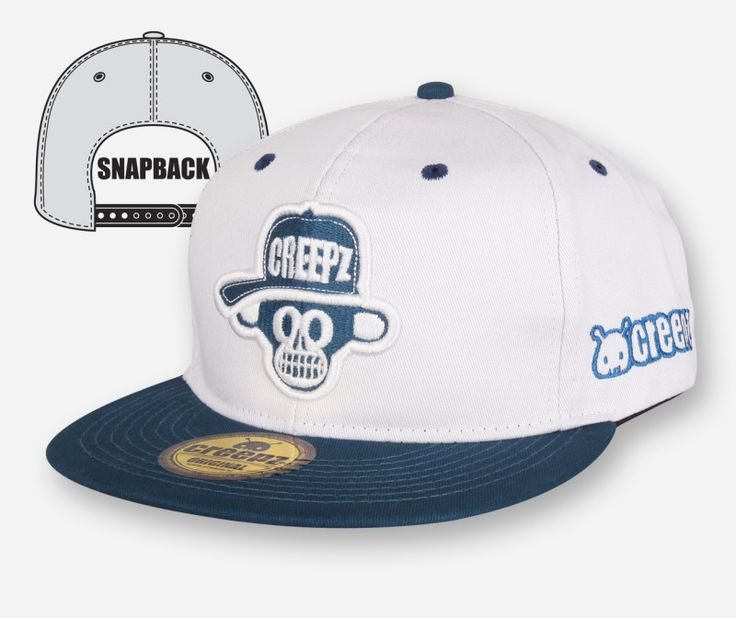 Snapback Big Chimp White - creepzshop