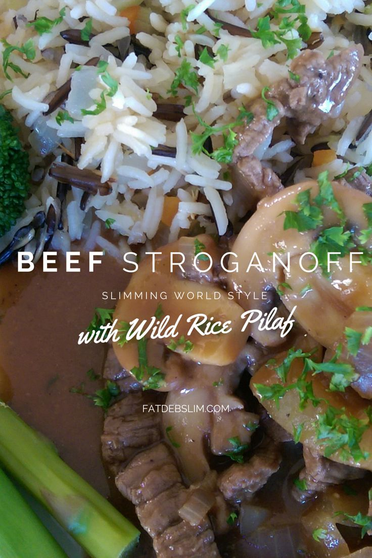 Slimming World Beef Stroganoff - Fatdebslim.com