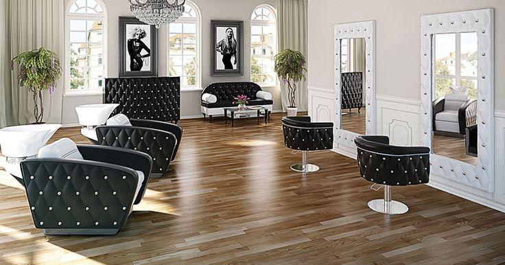 Salon collection Obsession by Ayala salon furniture. Hairdresser salon idea classic style. #Salonideas