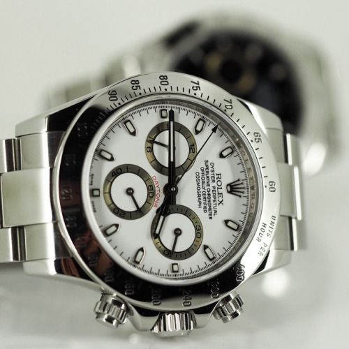 Rolex 116520 Daytona - black and white versions in stock and available for immediate delivery or collection - check them out at http://ift.tt/1ouCzIH -