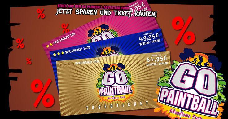 NEUES AUS DEM PARK: Jetzt wieder sparen und Ticket kaufen! - http://www.go-paintball.de/neues-aus-dem-park-jetzt-wieder-sparen-und-ticket-kaufen/