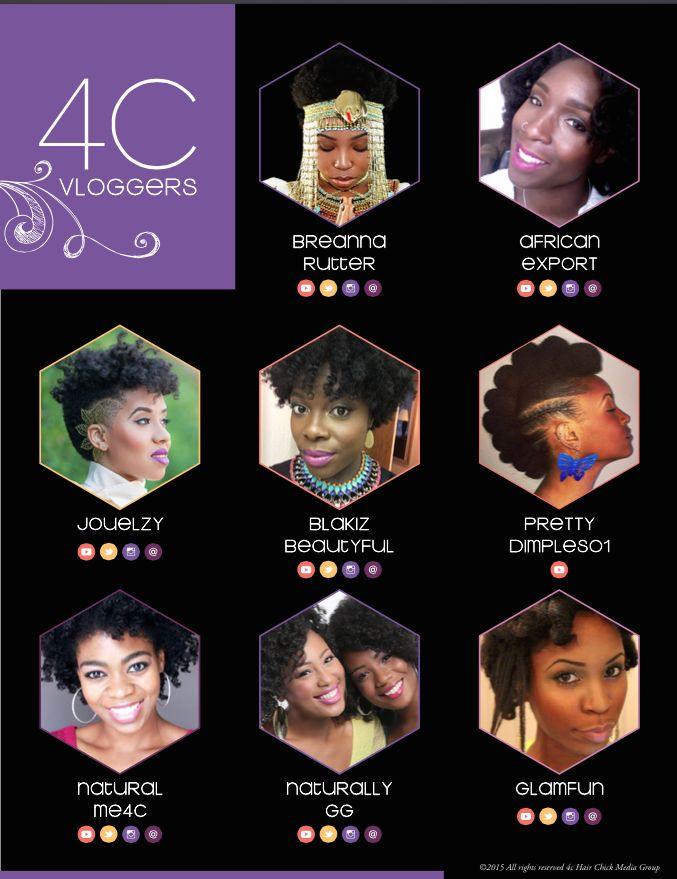 Jenell Stewart was featured in the 2015 4cHairChick Top 100 Vloggers.  Click here to see the other 99 talented vloggers featured. Read Jenell's Bio for a list of all Press features.