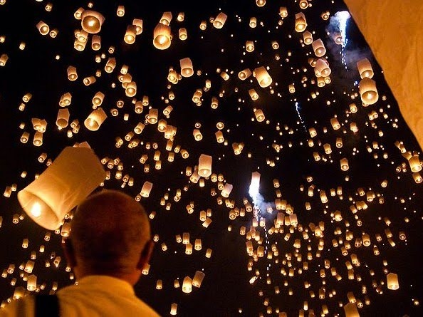 Sky Lantern Festival, Taiwan