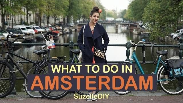 Our favourite poppie Suzelle DIY, is on holiday in Amsterdam, and takes us on a whistle stop (and entertaining) tour of this beautiful city ...