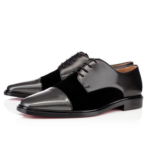 Christian Louboutin Bruno Orlato Loafers Carbone Leather
