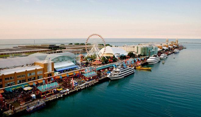 October trip!  Navy Pier, Courtesy of Chicago Convention & Tourism Bureau