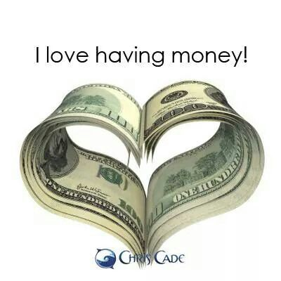 Yes I am logged on to the never ending source of money and abundance and prosperity and well being..