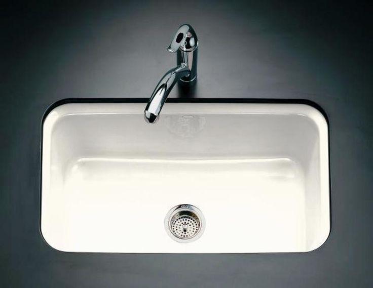 porzellan undermount kitchen sink - Kohler Waschbecken Schneidebrett