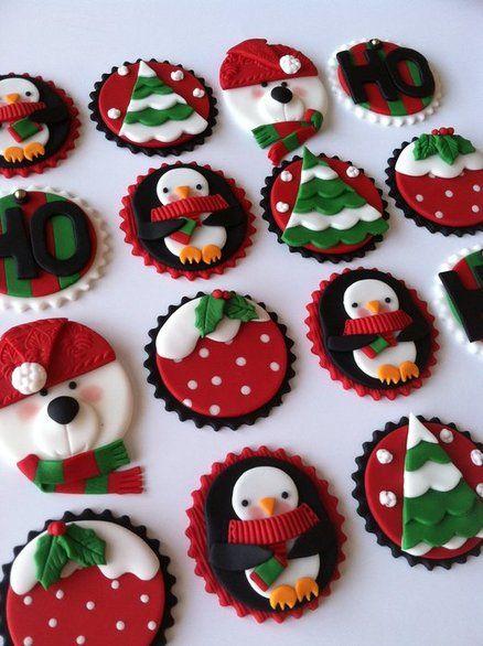 Winter christmas - by CakesbyAngelaMorrison @ CakesDecor.com - cake decorating website