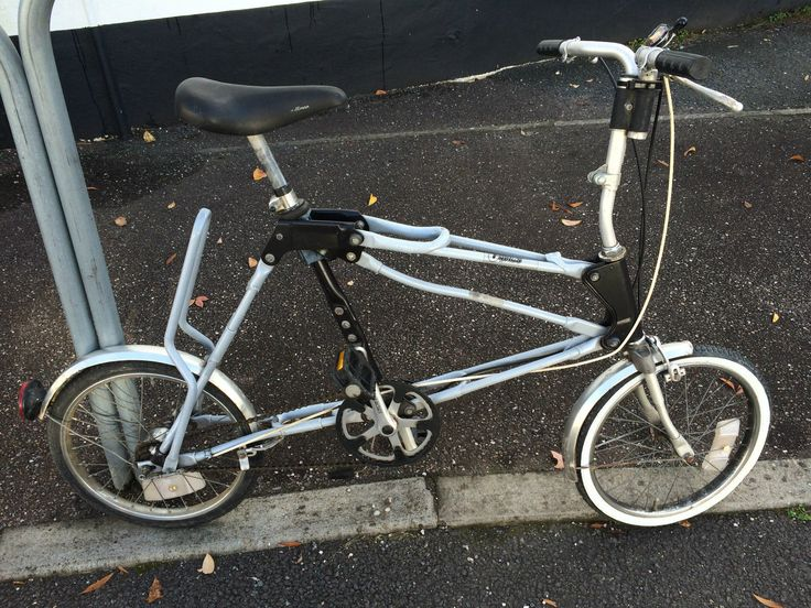 1984 Airframe Cycles Alloy Folder Used Brompton
